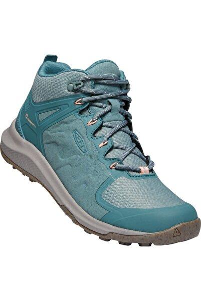 Keen Kadın Yeşil Bağcıklı Spor Ayakkabı