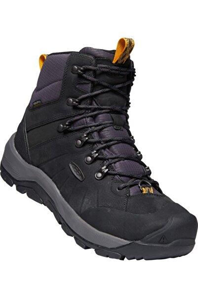 Keen Erkek Siyah Bağcıklı Ayakkabı