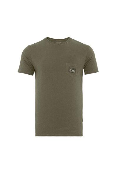 Quiksilver Erkek Yeşil Submissionss T-shirt