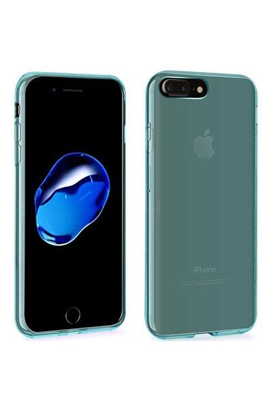 Microsonic iPhone 8 Plus Kılıf Transparent Soft Mavi
