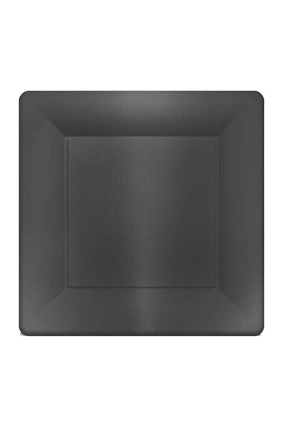 PiCare Tabak Kare Metalize Siyah 29cm Pk:6 Be7033