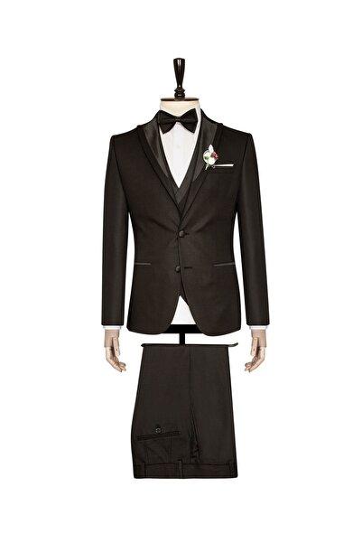 SÜVARİ Erkek 6 Drop Slim Fit Dokuma Kumaş Damatlık Takım Elbise