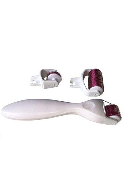 GEZPAZAR Derma Roller Titanyum Iğneli 3 Başlıklı Set