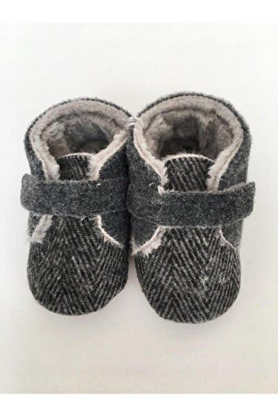 Funny Baby Unisex Bebek Gri Ayakkabı