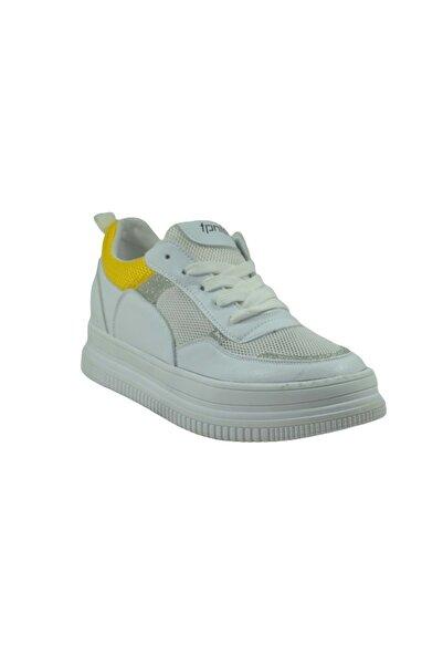 Guja Kadın Beyaz Günlük Spor Ayakkabı 19y304-2