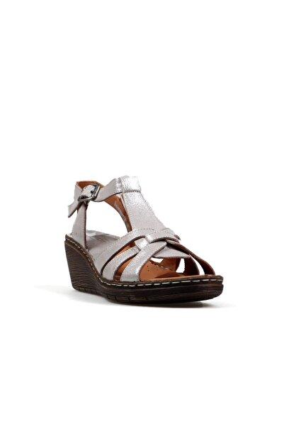 Hammer Jack Kadın Pembe   Deri Sandalet