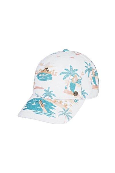 Roxy Kadın Beyaz Sun Is Shining Şapka
