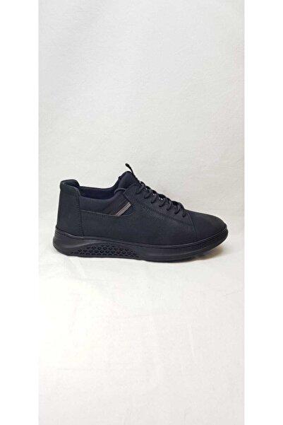 MARCOMEN Erkek Siyah Deri Ayakkabı