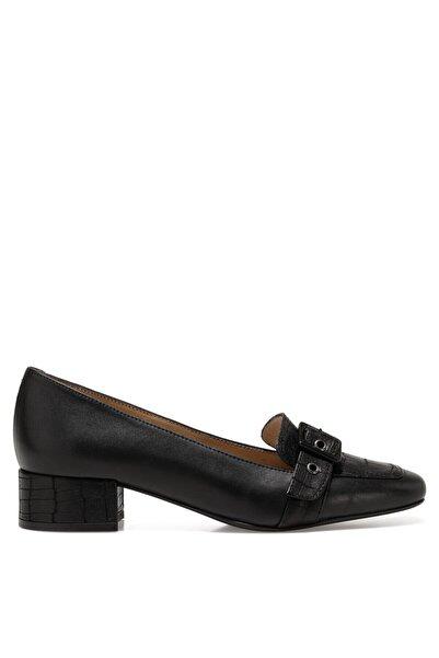 İnci Kadın Siyah Serge2 Gova Ayakkabı