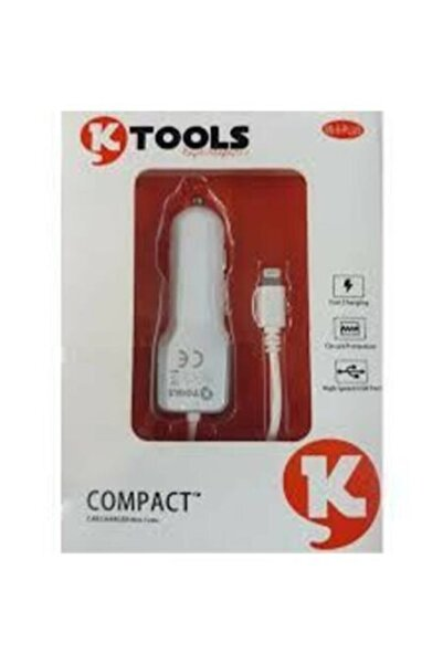 Ktools Usb Car Charger With Cable