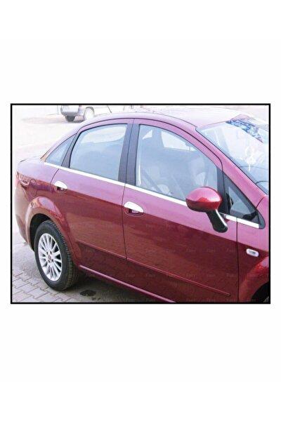 FAMS OTO AKSESUAR Fiat Linea Krom Cam Çıtası 8 Prç. 2007 Ve Üzeri P.çelik