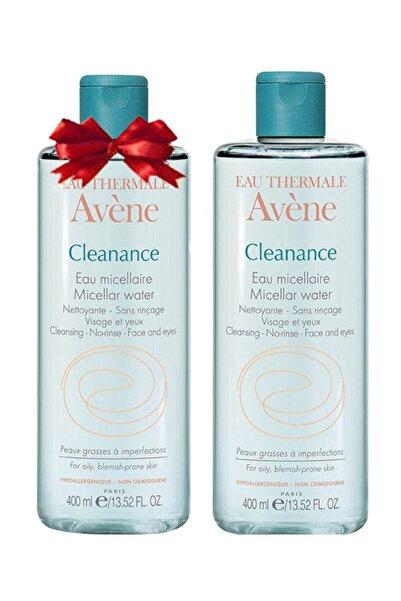 Avene Cleanance Eau Micellaire 400 ml+400ml - Yağlı Ciltler Için Temizleme Suyu (2.si Bedava)