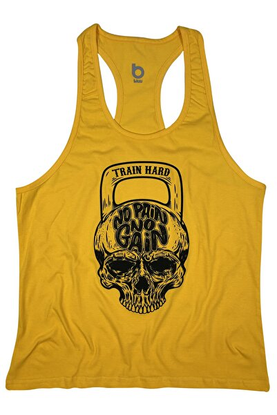 BLUU Fitness Gym Tank Top Sporcu Atleti 4110