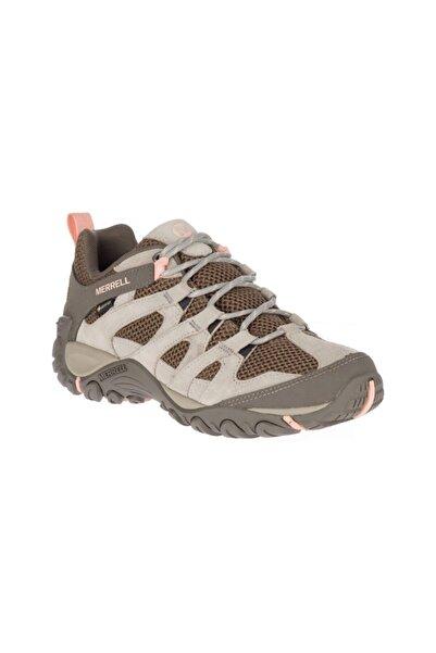 Merrell Kadın Gri Alverstone Gore tex Kadın Ayakkabı