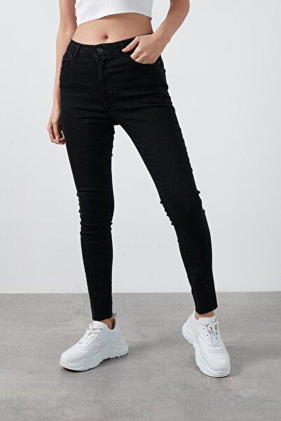 Fashion Friends Yüksek Bel Skinny Pamuklu Jeans Kadın Kot Pantolon 20k0161b1