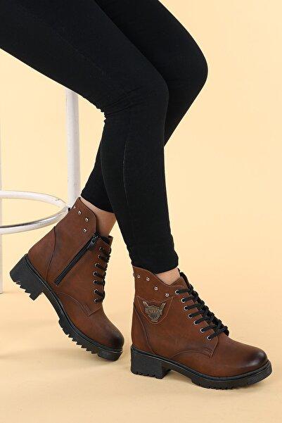 Ayakland Kadın Taba Bot Ayakkabı