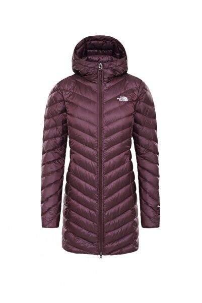 THE NORTH FACE Kadın Bordo Nf0a3brk6x51 W Trevaıl Parka Tracktop