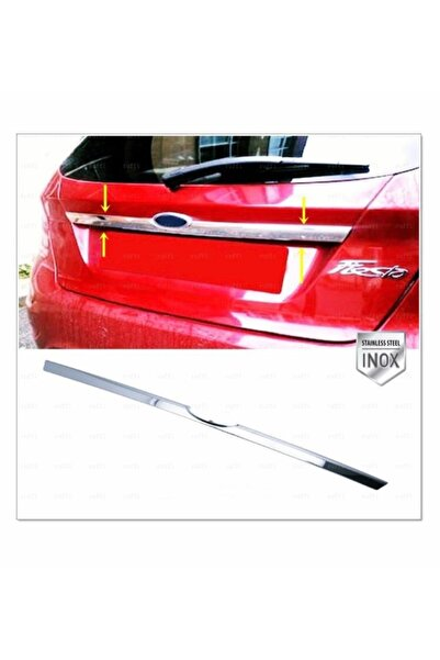 FAMS OTO AKSESUAR Ford Fiesta Krom Bagaj Çıtası 2008-2017 Arası P. Çelik