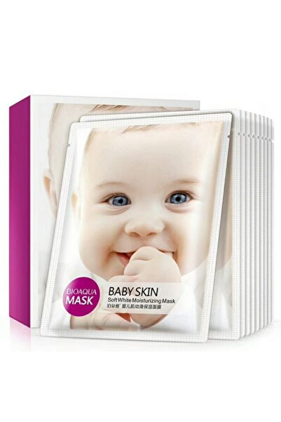 Bioaqua Baby Skin Bebeksi Pürüzsüzlük 1 Aylık Cilt Bakım Kürü 30 gr X 10 adet