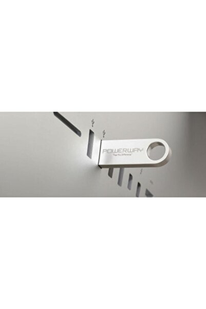 POWERWAY 16 Gb Metal Usb Flash Bellek