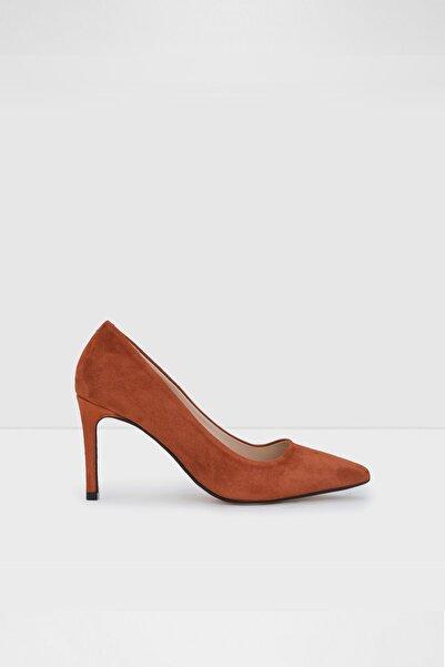 Aldo Kadın Kiremit Rengi Topuklu Ayakkabı