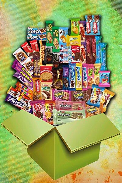 Eti Sen Ve Ben Mega Çikolata Kek Pak - 55 Parça