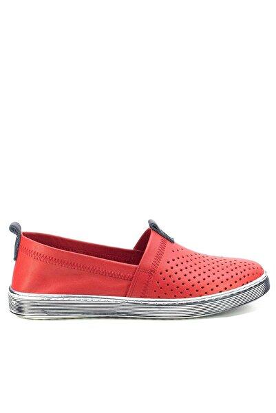 Mammamia Kadın Kırmızı Renk Günlük  Ayakkabı