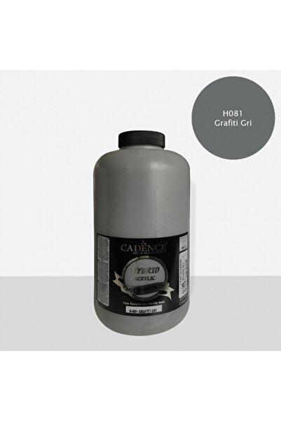 Cadence Hibrit Multisurface Akrilik Boya 2000 Ml H081 Grafiti Gri