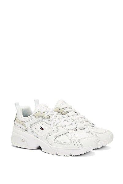 Tommy Hilfiger Kadın Beyaz Sneaker
