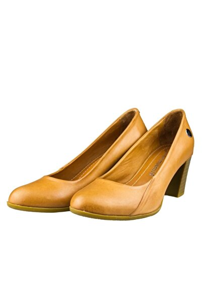 Mammamia Kadın Kahverengi Topuklu Ayakkabı