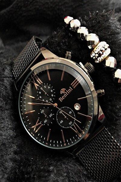 Bentini Stone Watch Concept Italyan Erkek Kol Saati + Dr Stone Bileklikdrbn14
