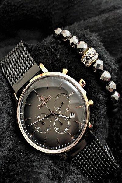 Bentini Stone Watch Concept Italyan Erkek Kol Saati + Dr Stone Bileklikdrbn19