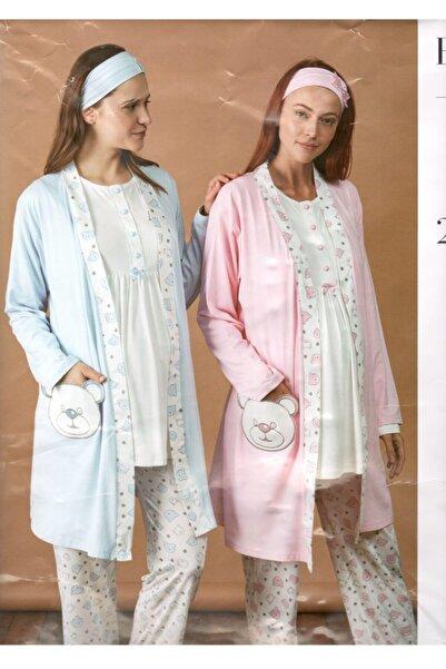 Haluk Bayram 3'lü Pijama Takımı 3430
