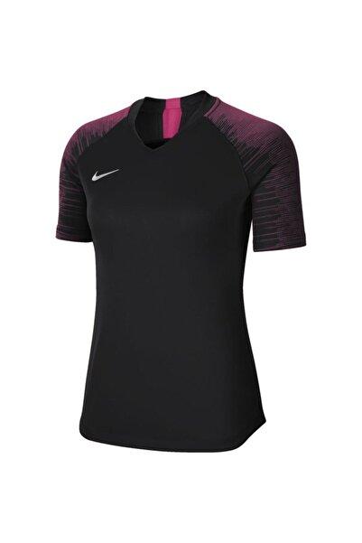 Nike Kadın Siyah Pembe Cn6886-011 M Nk Dry Fit Strike T-Shirt