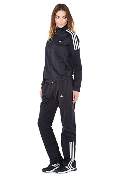 adidas Kadın Siyah S21015 Frıeda Suıt Üç Bantlı Eşofman Takımı