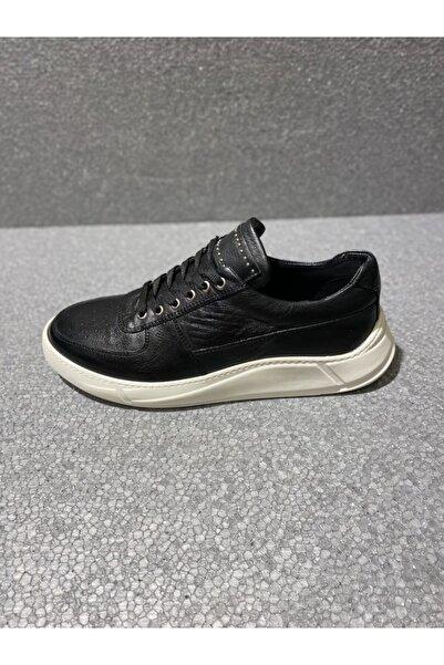 TETRİ Erkek Siyah Yürüyüş Ayakkabısı