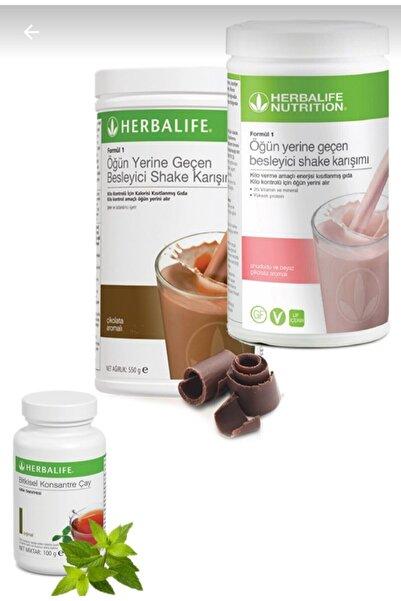 Herbalife 1 Adet Ahududulu 1 Adet Çikolatalı Shake ve Çay 50 gr 1 Adet
