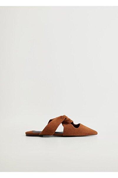 Violeta by MANGO Kadın Orta Kahverengi Ayakkabı 77010090