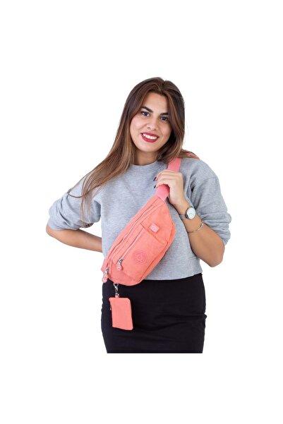 NasBag Kadın  Somon Çanta