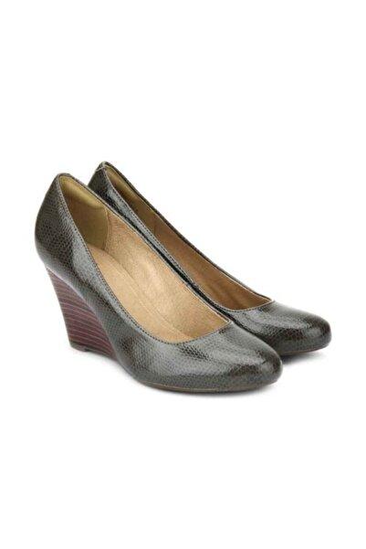 CLARKS Kadın Yeşil Topuklu Ayakkabı