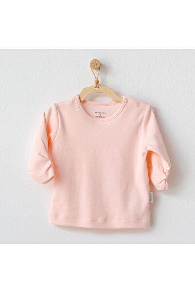 andywawa Unisex Bebek Pembe Tshirt Ac21247