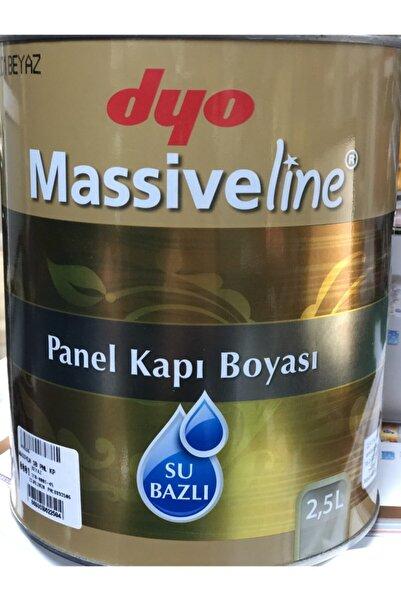 Dyo Massiveline Su Bazlı Kokusuz Panel Kapı Boyası 2.5 Lt