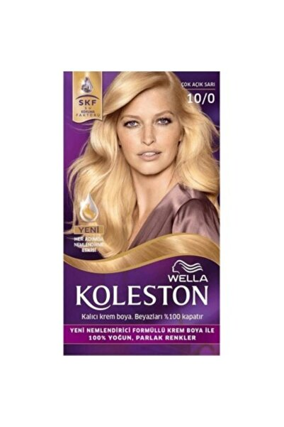 Koleston Kit Saç Boyası 10/0 Çok Açık Sarı
