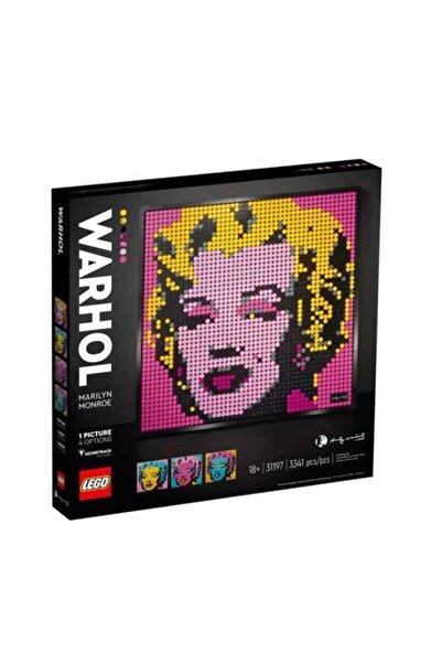 LEGO 31197 Andy Warhol Un Marilyn Monroe Tablosu /3341pcs/+18 Yaş / Art Özel Ürün