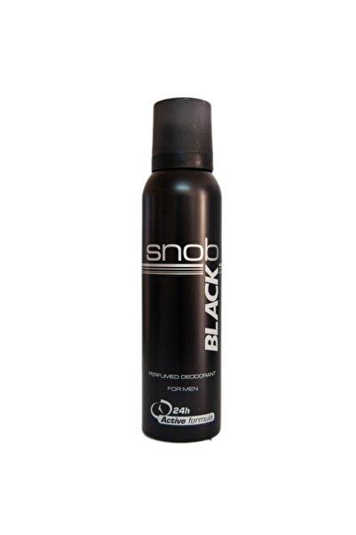 Snob Deo 150 Ml Black