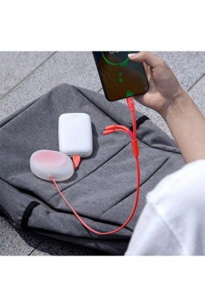Ally Mobile Baseus Lets Go Type-c 3a,iphone,micro Usb 3in1 Çoklu Başlık Usb Şarj Kablosu