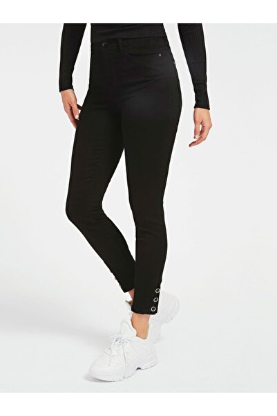 Guess Kadın Siyah Pantolon 1981