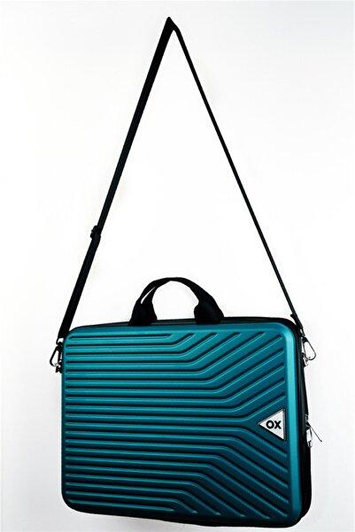 OX Luggage 01017 Petrol Yeşili 17,3 Inç Abs Laptop Çantası