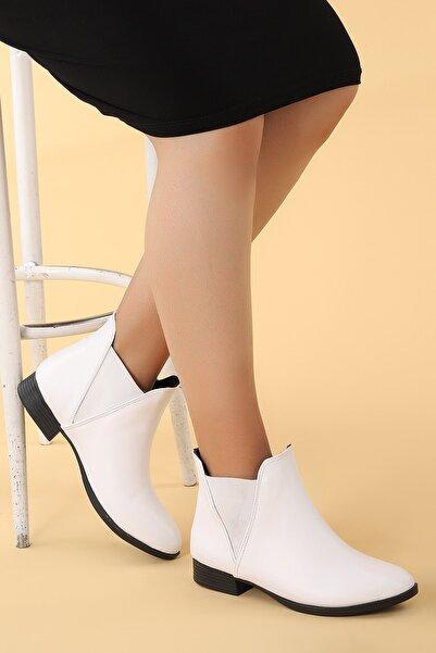 Ayakland Cilt Termo Kadın Bot Ayakkabı 8284 2112