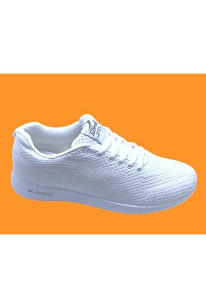 Marco Jamper Unisex Beyaz Kaliteli Spor Ayakkabısı